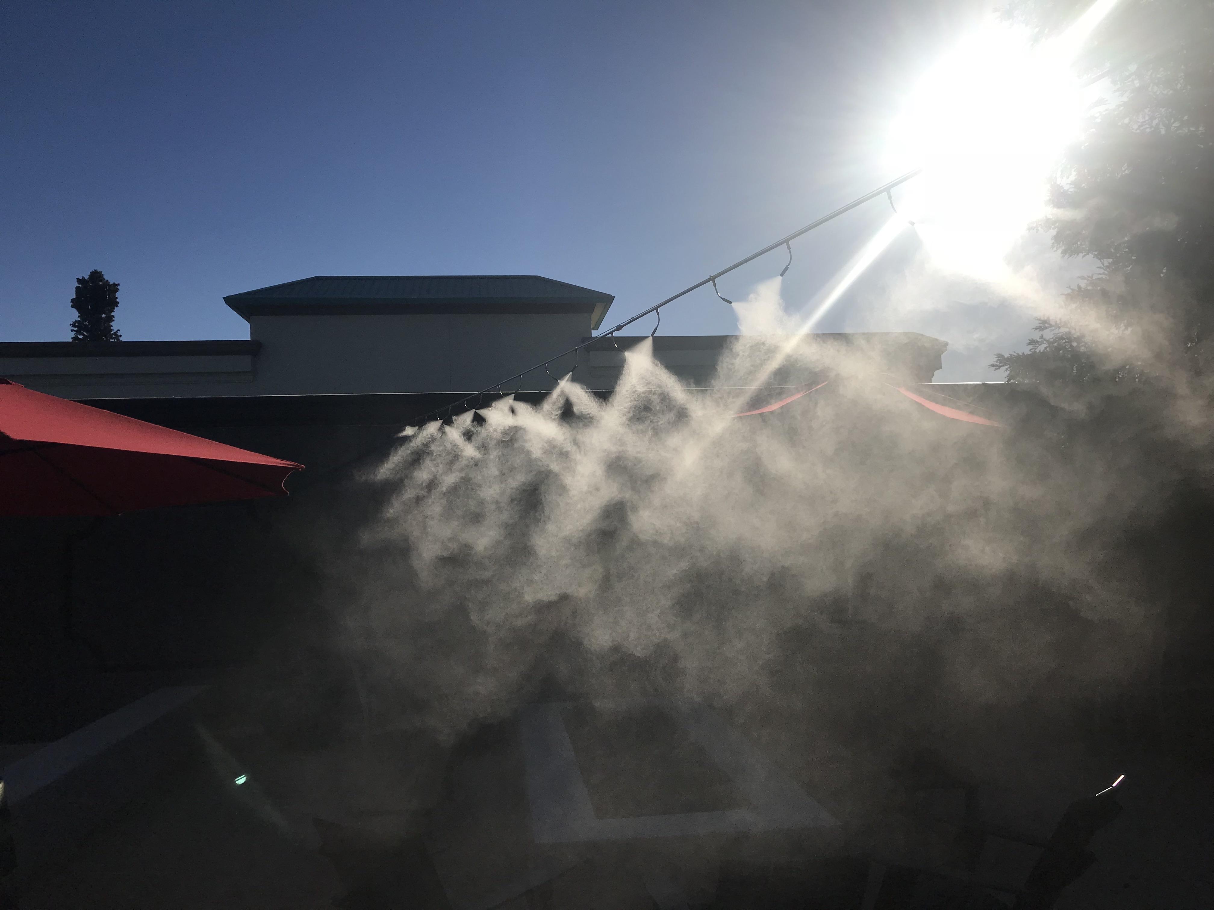 outdoor misting system folsom